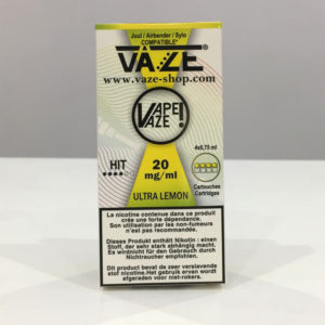 VAZE Ultra Lemon - Cartouche cigarette électroniques à Bordeaux