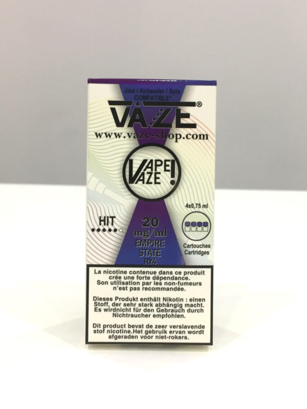 VAZE Empire State - Cartouche cigarette électroniques à Bordeaux