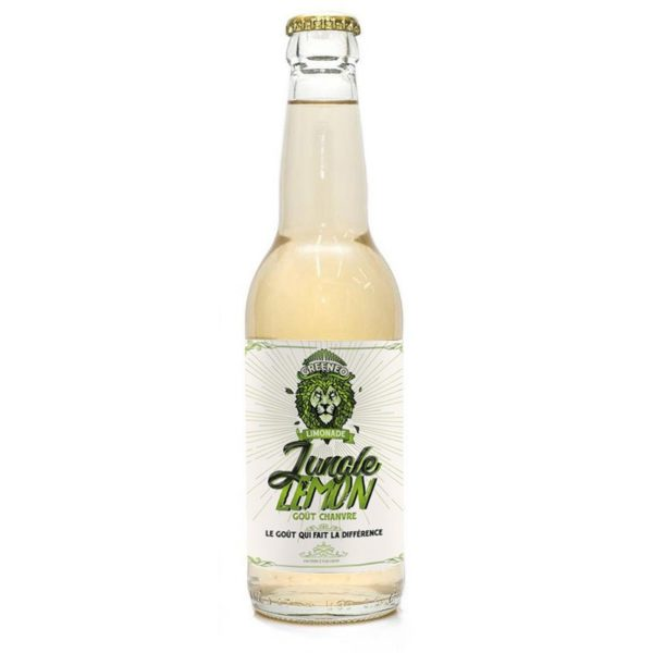 Boisson CBD - GREENEO Limonade Jungle Lemon
